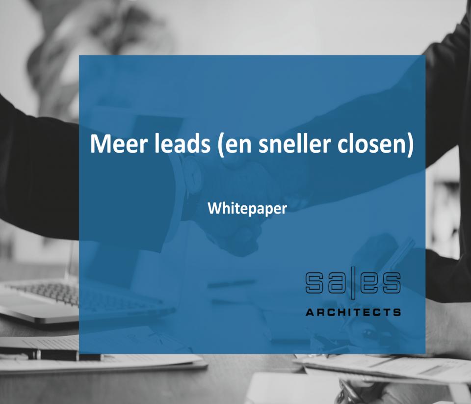 Meer leads en sneller closen - Sales Architects